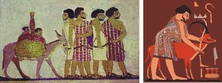 Judaism for Beni hasan mural